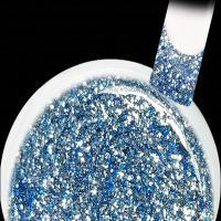 Eisblau Silber